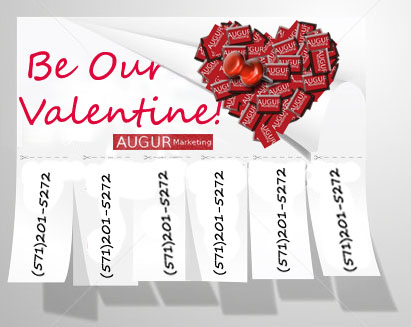 Happy Valentine's Day from Augur Marketing