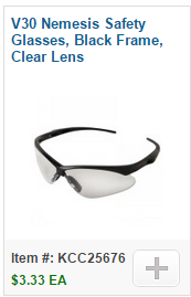 V30 Nemesis Safety Glasses