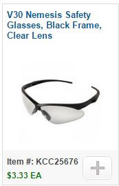 V30 Nemesis Safety Glasses